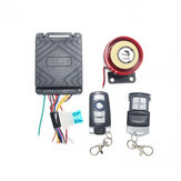 12V 125dB Motorcycle Scooter Security Alarm System Anti Theft Remote Control
