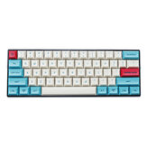 MechZone 75/133 Keys Hawaii Theme Keycap Set DSA Profile PBT Sublimation Keycaps for 61/64/68/104/108 Keys Mechanical Keyboards