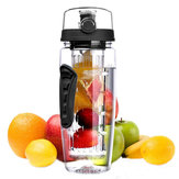 1000 ml sportfles fruit waterfles plastic draagbare outdoor camping hand cup ruimte cup