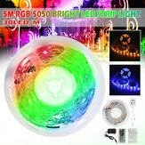5M RGB 5050 NO Impermeable LED Luz de tira SMD con controlador de 44 teclas Control remoto