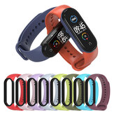 Bakeey Two-color TPU Silicone Replacement Strap Smart Watch Band For Xiaomi Mi Band 5