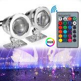 20W RGB LED licht fontein zwembad vijver Spotlight onderwater waterdicht met afstandsbediening