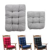 Chaise berçante coussin siège dossier coussin antidérapant chaise coussin chaise berçante inclinable tapis pour bureau canapé maison