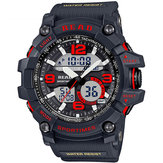 LEER R90001 Dual Pantalla Men Chronograph Digital Watch