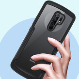 Bakeey Airbag Shockproof Transparent with Camera Protector Acrylic + Soft TPU Protective Case for Xiaomi Redmi 9 Non-original