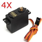 4X MG995 High Torque Metal Gear Analog Servo für RC Flugmodelle