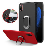 Bakeey Protective Case for iPhone XS Max 360° Adjustable Metal Ring Grip Kickstand TPU Back Cover