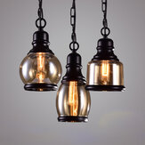 Home Indoor Retro Chandelier Industrial Style Bar Small Lamp Single Head Restaurant Loft Cafe light Decorations