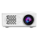 HD 1080P LCD Projector LED 400 Lumens Projector Multiple Ports Built-in Speaker Portable Smart Home Theater Projector With Remote Control