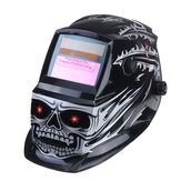 Solar Powered Auto Darkening Welding Helmet Arc Tig Mig Grinding Welderr Mask