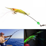 ZANLURE 5pcs 7cm 7g Noctilucent Soft Prawn Shrimp Fishing Lure Bait