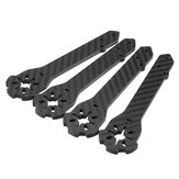 4 PCS Eachine Wizard X220S FPV Racer RC Drone Spare Part 4mm Frame Arm Carbon Fiber