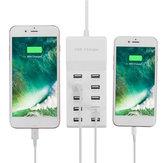 Universal AC 100-240V 10 Port USB Charging Station For Smartphone Tablet
