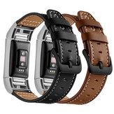 ساعة Bakeey من الجلد الطبيعي حزام سوار القميص حزام لـ Xiaomi Amazfit Bip Youth Edition ذكي Watch غير أصلية