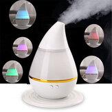 Umidificador de ar ultra-sônico de 250ml USB para carregamento essencial Óleo Difusor LED Purificador de luz para escritório doméstico
