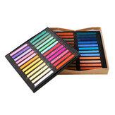 Marie's F2012 Color Chalk Painting Crayon Soft Dry Pastel Dye Cabello 24/12/36/48 Colors / Set Art Drawing Set Office Escuela Students Art Supplies