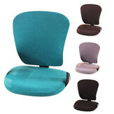 Corn Plush Office Computer Chair Cover Slip Stretchable Rotate Swivel Seat Home Office