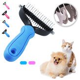 Pet Comb Dual Side Dematting Rake Cleaning Slicker Pet Pennello Puppy Dog Cat Fur Shedding Pennello