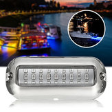 12V 50W 27LED 316 Stainless Steel Boat Transom Lamp Underwater Pontoon Marine Lights For Boat
