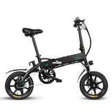 [EU Direct] FIIDO D1 36V 250W 11.6Ah 14 Inches Folding Moped Bicycle 25km/h Max 90KM Mileage Electric Bike