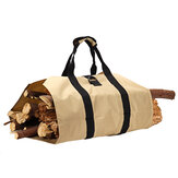 600D Oxford Portable Firewood Carrier Holder Wood Storage Canvas Tote Bag Outdoor Camping Accessories