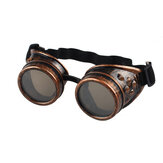 Steampunk Goggles 2020 New fashion Arrival Vintage Round Mirror Style Welding Punk Glass Cosplay Wholesale Eyewear