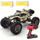 609E RTR Two Bateria 1/8 2.4G 4WD RC carro elétrico veículos off-road caminhão modelo RTR brinquedos infantis para crianças