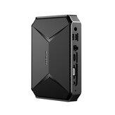 CHUWI Herobox Pro Intel Jasper Lake N4500 8G DDR4 RAM 256G SSD Mini PC 1,1–2,8 ГГц Слот для карты TF 4K Обновление SATA 2,4G / 5G WiFi BT4.0 HD2.0 Type C