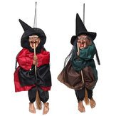 Halloween decoraties Heks Props Bright Eyes lachen Sound Control Feestartikelen