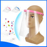 Double-Sided Protective Mask Anti-Splash Head-Mounted Full Face Protection Mat for Healthcare