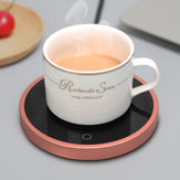 15W PTC Heat Glass Heater Milk Tea Coffee Hot Beverage Mug Warmer Cup Mat Pad