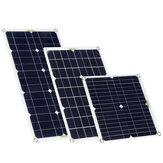 200 واط مجموعة الألواح الشمسية 18 فولت البطارية شاحن 10/20/30/40/50A وحدة تحكم تيار منتظم/USB / TYPE-C لملحقات التخييم في الهواء الطلق
