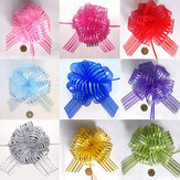50mm Organaza Ribbon Wedding Party Ribbons Pull Bows Gift Wrap Decoration