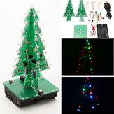 3 szt. Geekcreit® DIY Zestaw choinkowy LED Flash Kit Zestaw elektroniczny 3D