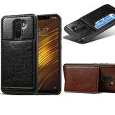 Bakeey Multifuncional 2 em 1 com carteira com suporte Couro PU de proteção Caso Para Xiaomi Pocophone F1