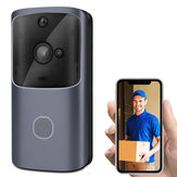 Wireless WiFi Smartphone Remote Video Camera Doorbell 2-way Audio Home Security