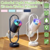 3.5W 200ML Ultrasonic Electric Air Diffuser Aroma Humidifier USB Rotatable LED Night Light