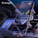 Essager Gravity uchwyt samochodowy na telefon + kabel do transmisji danych uniwersalny uchwyt na kratkę wentylacyjną uchwyt samochodowy uchwyt na telefon komórkowy stojak w samochodzie na iPhone Poco X3 NFC do smartfona 4,7-7 cala
