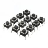 Geekcreit® 300pcs Mini Micro Bouton-Poussoir Tactile Tactile Momentané DIP P4 Normalement Ouvert