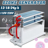 AC 110V /220V 12g/18g/24g Ozone Generator Ozonator Machine Water Air Purifier