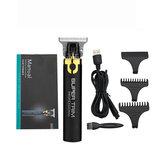 Elektrischer T-Outliner Akku-Haarschneider Wiederaufladbarer tragbarer Haarschneider Barber Shaver