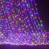 500LED 100 m String Fairy Light 8 Modi Waterdicht Xmas Party Bruiloft Gordijn Kerstboomversieringen Lichten