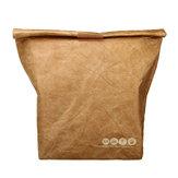 Almoçodopiqueniquedopapelde embalagem 6L Bolsa refrigerador térmico isolado Bolsa do alimento
