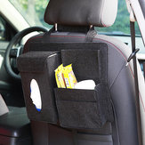 Felt Car Seat Back Storage Bag Multi Pocket Phone Cup Holder Organizer