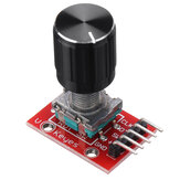 KY-040 360 Degrees Rotary Encoder Module with 15×16.5mm Potentiometer Rotary Knob Cap for Brick Sensor Switch