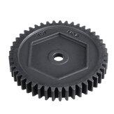 Engrenage droit en métal 45T M0.8 # 8053 pour pièces de rechange pour camion sur chenilles TRX4 TRX6 1/10 RC