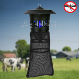 गार्डन फार्म एंटी-मच्छर रिपेलर के लिए GREENYELLOW 220V 15W इलेक्ट्रिक मच्छर किलर लाइट