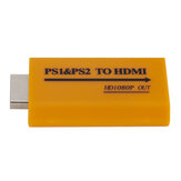 PS1 PS2 To HDMI Converter Adapter 1080P Output USB Cable for Sony PS1 PS2 Game Console