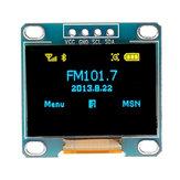 3 stuks 0,96 inch blauw geel IIC I2C OLED displaymodule