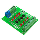 24V To 12V 4 Channel Optocoupler Isolation Board Isolated Module PLC Signal Level Voltage Converter Board 4Bit